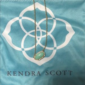 Kendra scott necklace in turqoise/ mint green
